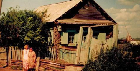 Этнограф Е.Ф. Фурсова с местной жительницей Н.П. Чащиной, с. Мартыново Усть-Таркского района Новосибирской области